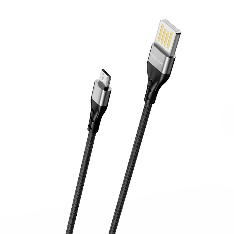 borofone bu11 tasteful charging data cable micro usb wire