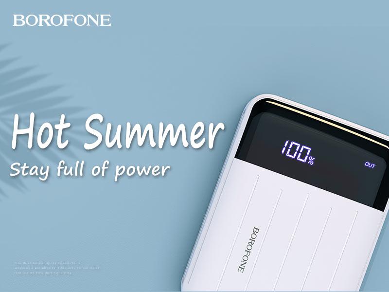 borofone news t series mobile power banks banner en