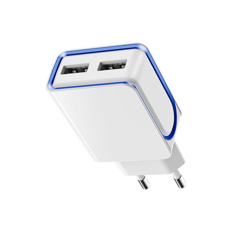 borofone ba35 brilliant dual port charger eu ports