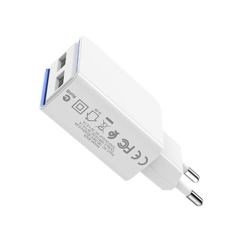 borofone ba35 brilliant dual port charger eu specs