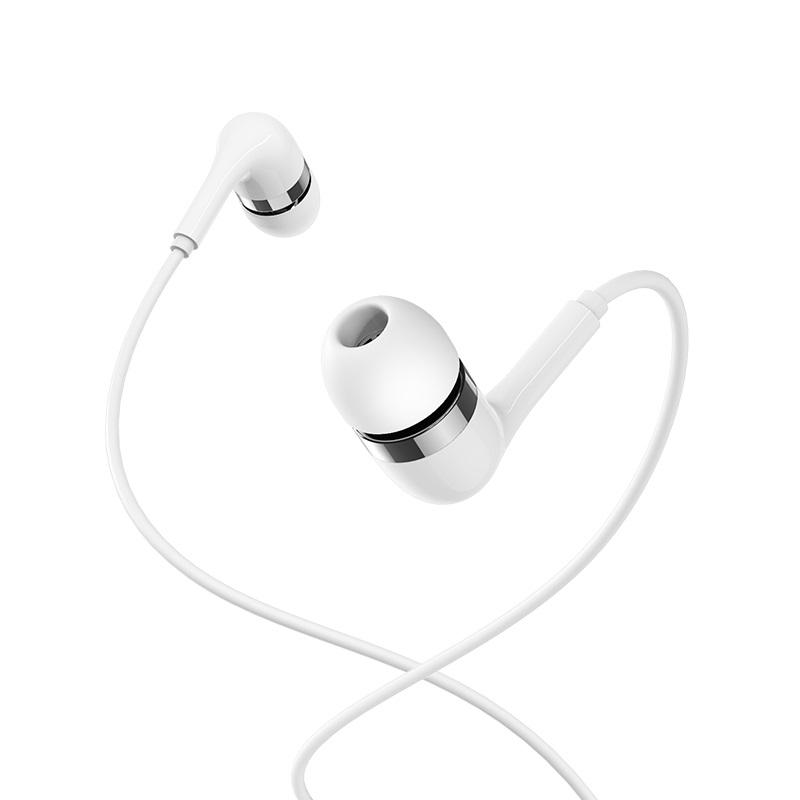 borofone bm39 refined chant universal earphones with mic wire