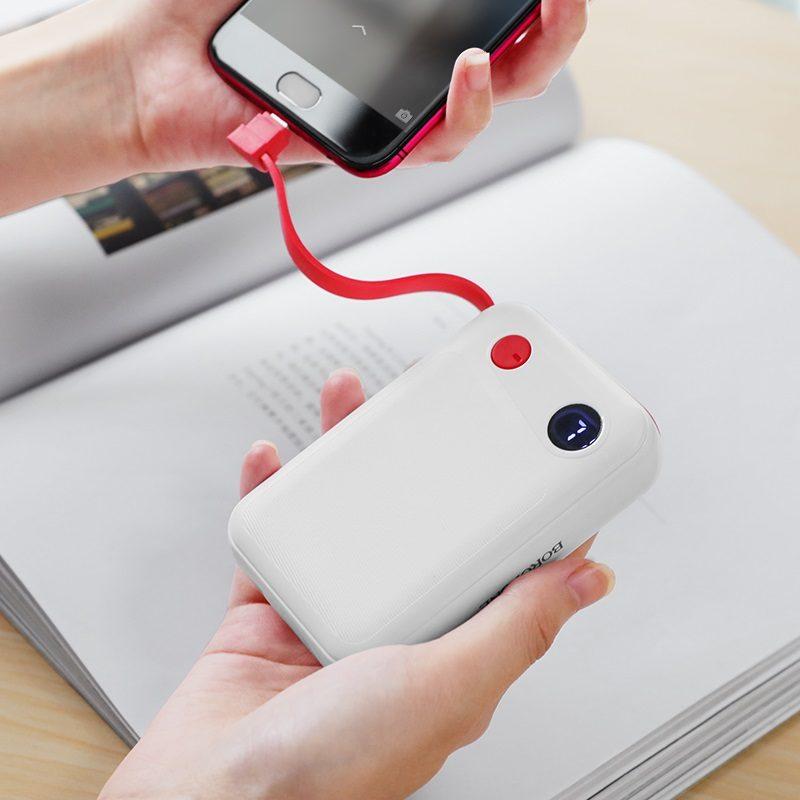 borofone bt24 quick power mobile power bank 10000mah charging
