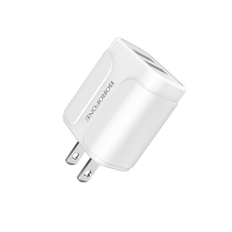 borofone ba37 speedy dual port charger us pins