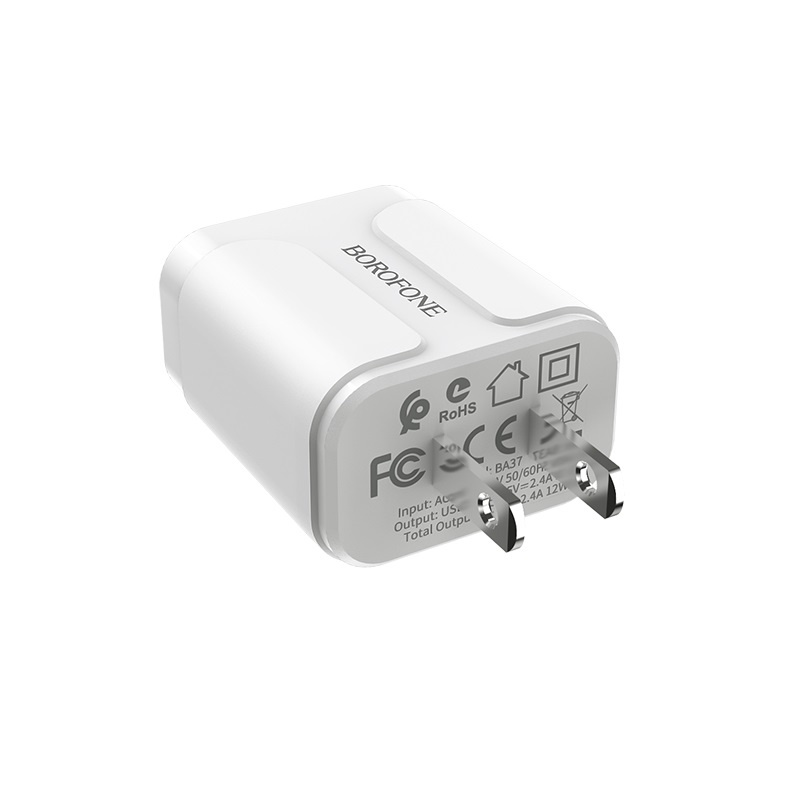 borofone ba37 speedy dual port charger us specs