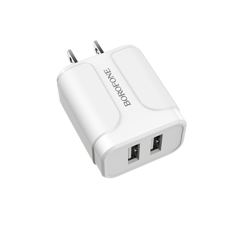 borofone ba37 speedy dual port charger us usb