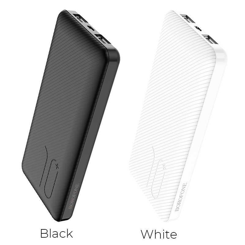 borofone bt28 beneficial mobile power bank 10000mah colors