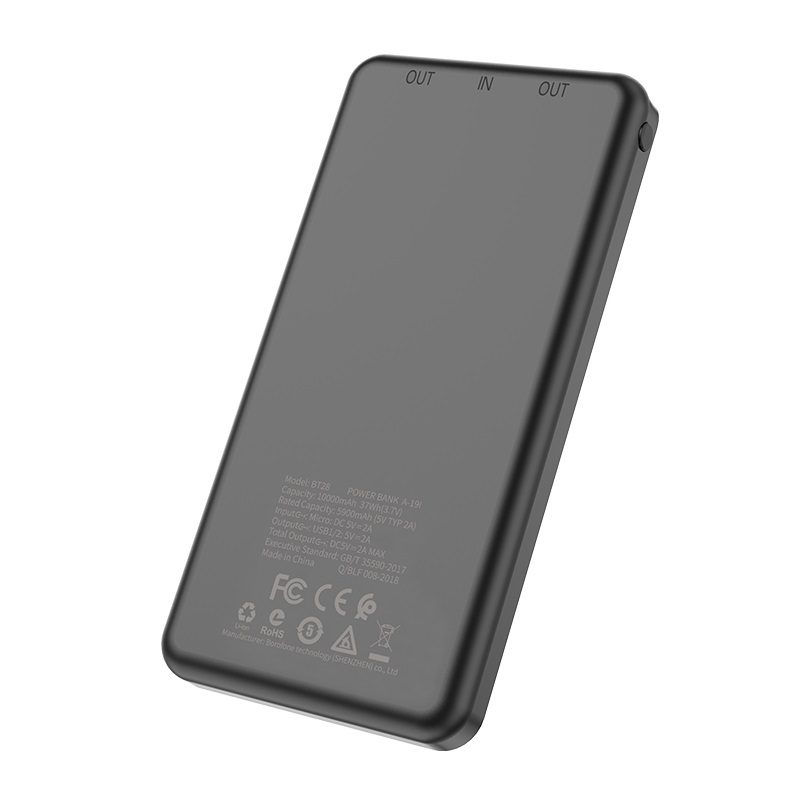 borofone bt28 beneficial mobile power bank 10000mah specs