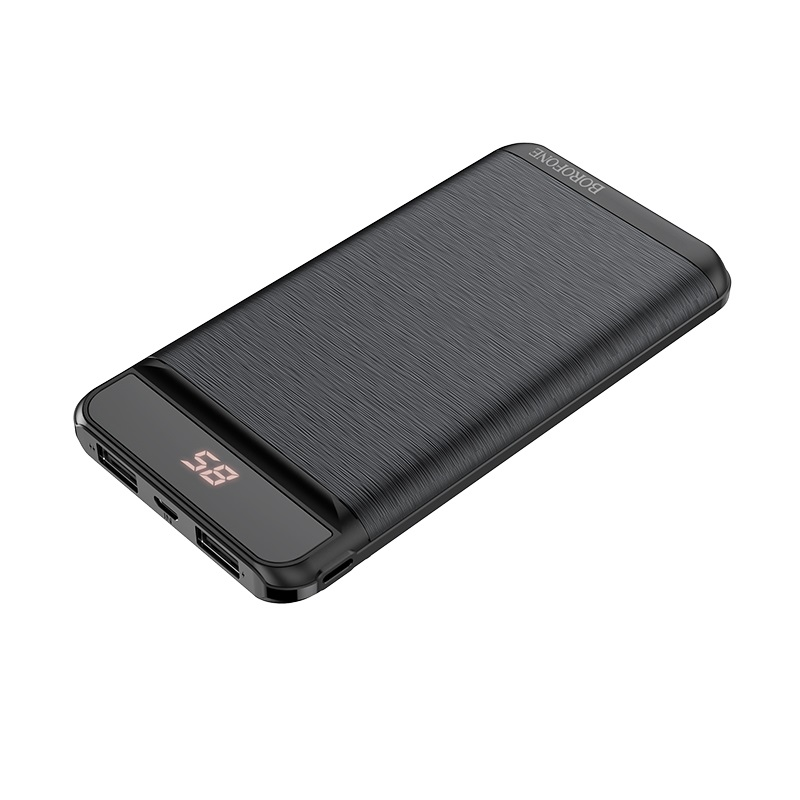borofone bt29 vigor mobile power bank 10000mah display