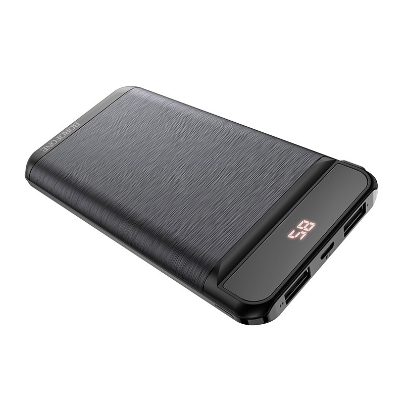 borofone bt29 vigor mobile power bank 10000mah ports