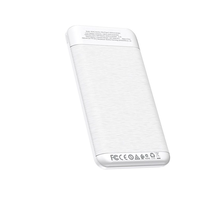 borofone bt29 vigor mobile power bank 10000mah specs