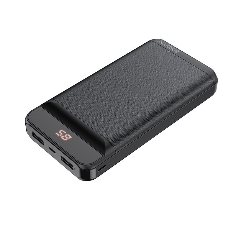 borofone bt29a vigor mobile power bank 20000mah display