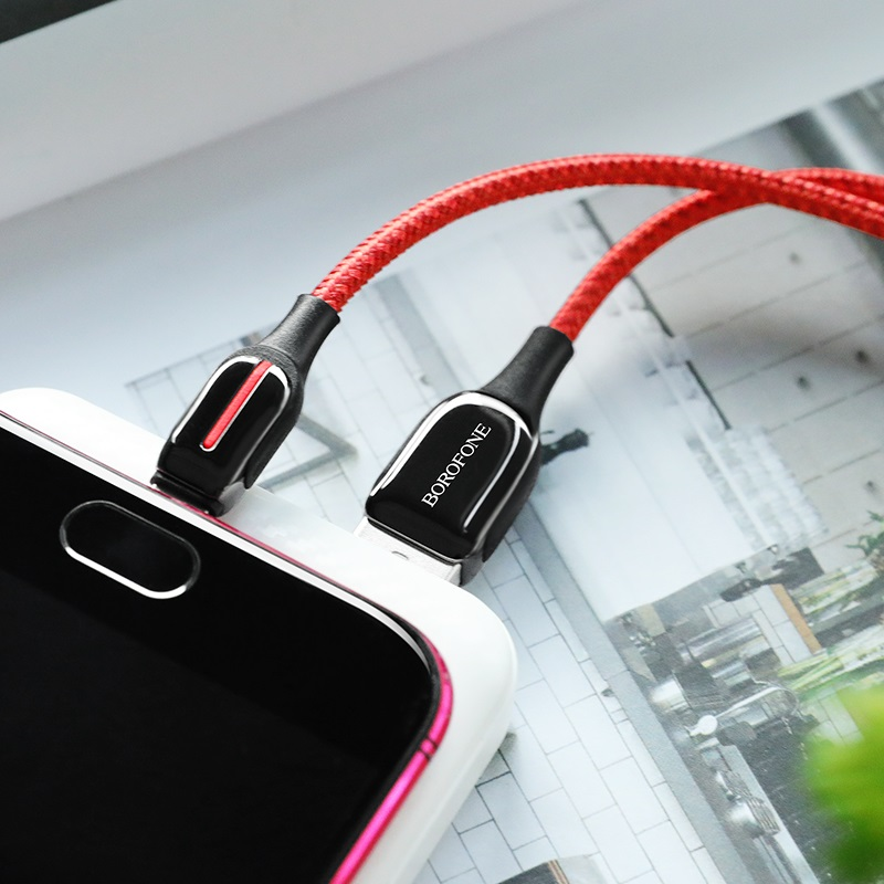 borofone bu14 heroic charging data cable micro usb charging