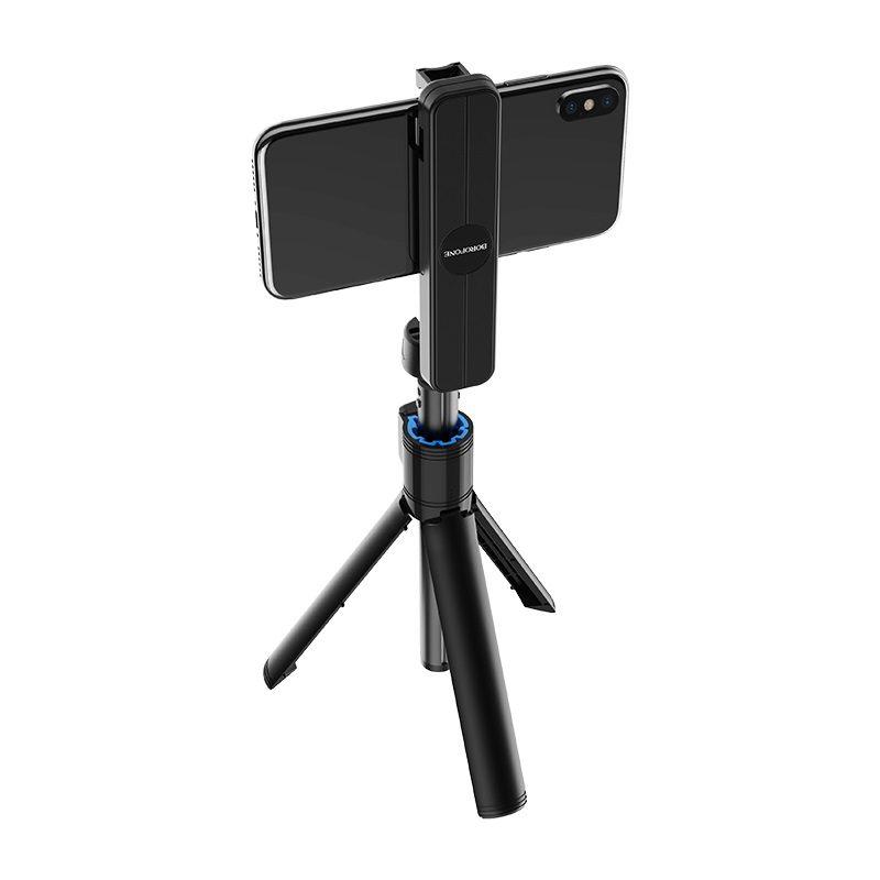 borofone by5 leo wireless selfie stick tripod stand back
