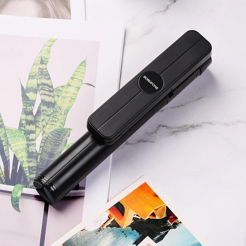 borofone by5 leo wireless selfie stick tripod stand interior