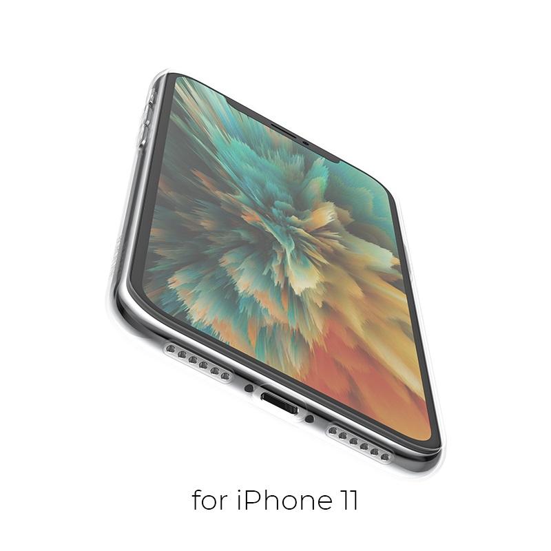 borofone ice series bi4 чехол для телефона для iphone 11 отверстия