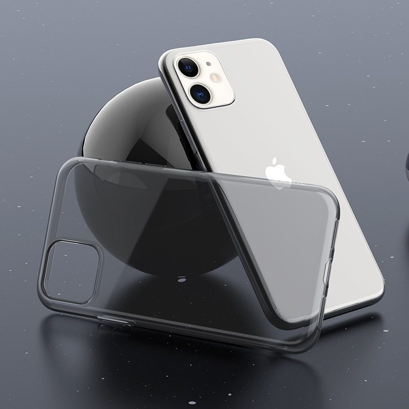 borofone ice series bi4 чехол для телефона для iphone 11 интерьер черный