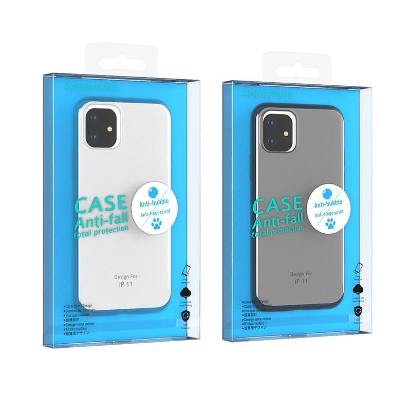 borofone ice series bi4 чехол для телефона для iphone 11 упаковки