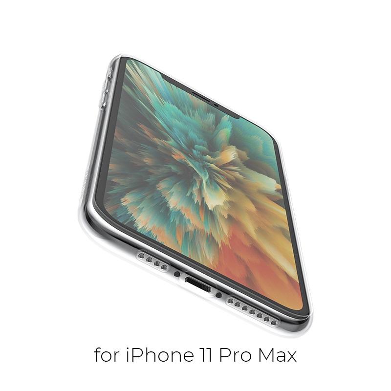 borofone ice series bi4 чехол для телефона для iphone 11pro max отверстия