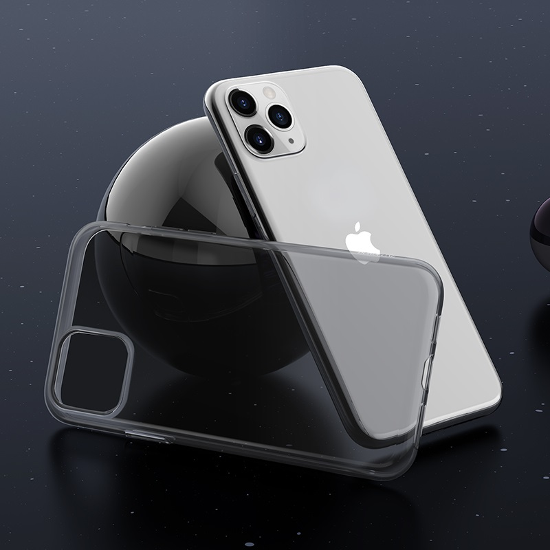 borofone ice series bi4 чехол для телефона для iphone 11pro max интерьер черный