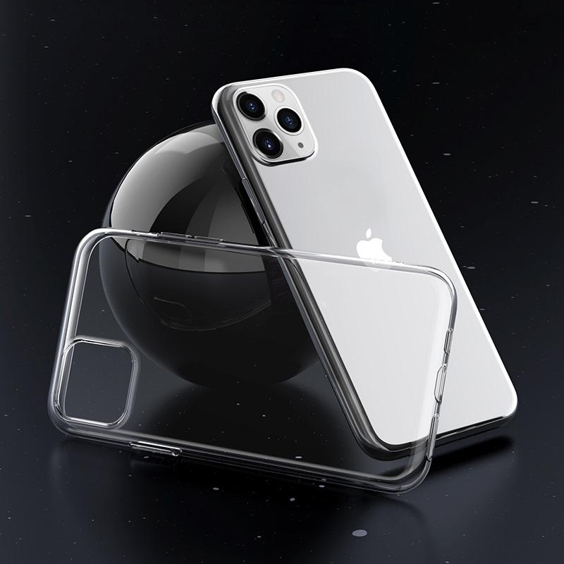 borofone ice series bi4 чехол для телефона для iphone 11pro max интерьер прозрачный