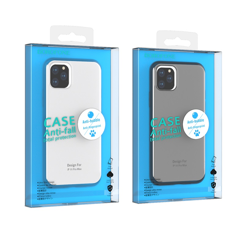 borofone ice series bi4 чехол для телефона для iphone 11pro max упаковки