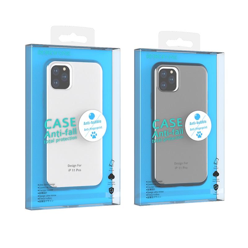 borofone ice series bi4 чехол для телефона для iphone 11pro упаковки