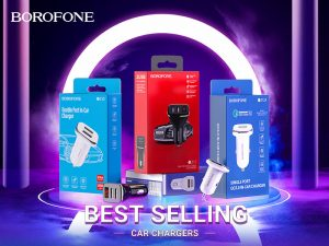 BOROFONE Z series in-car chargers collection
