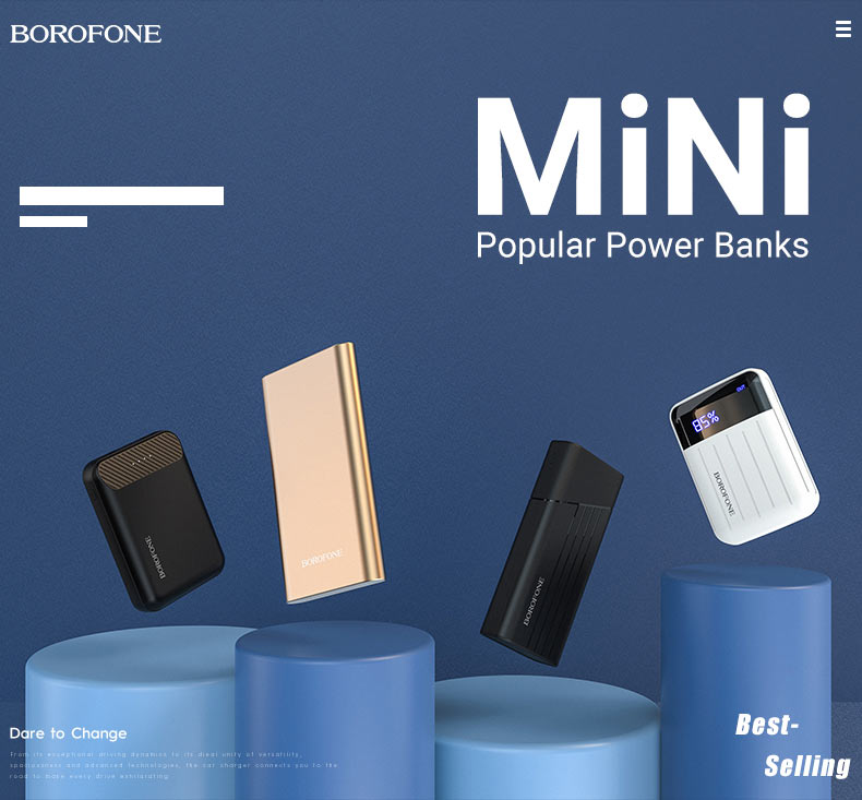 borofone news popular power banks t series en