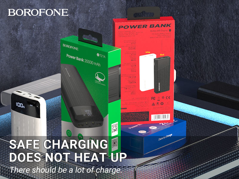 borofone news t series power bank banner en