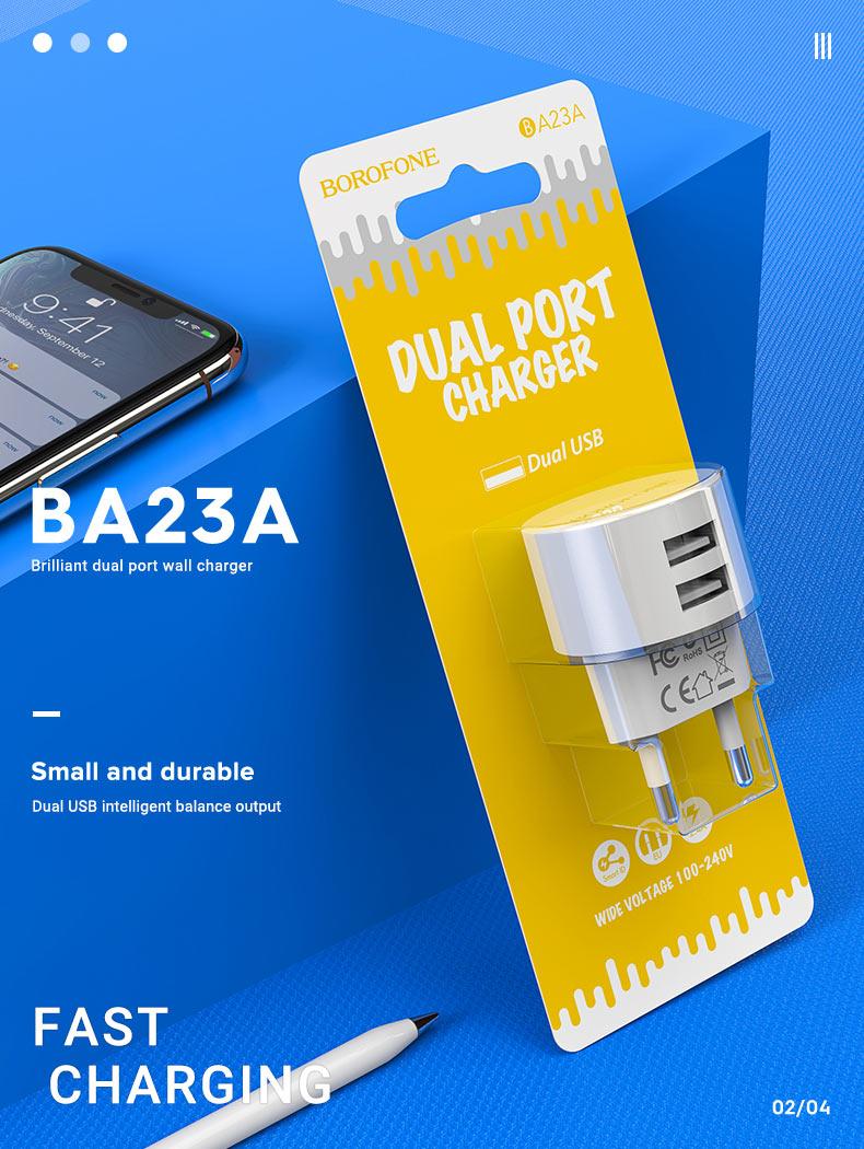 borofone news wall chargers a series ba23a en