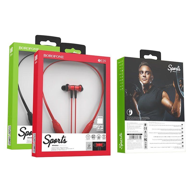 borofone be29 joyous sports wireless earphones packages