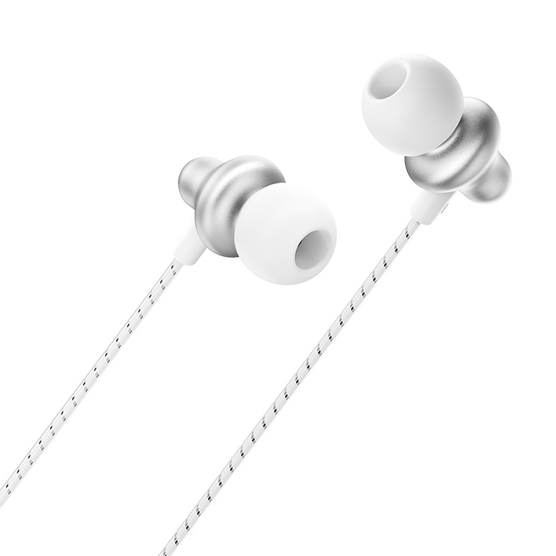 borofone bm42 sophisticated universal earphones with mic wire