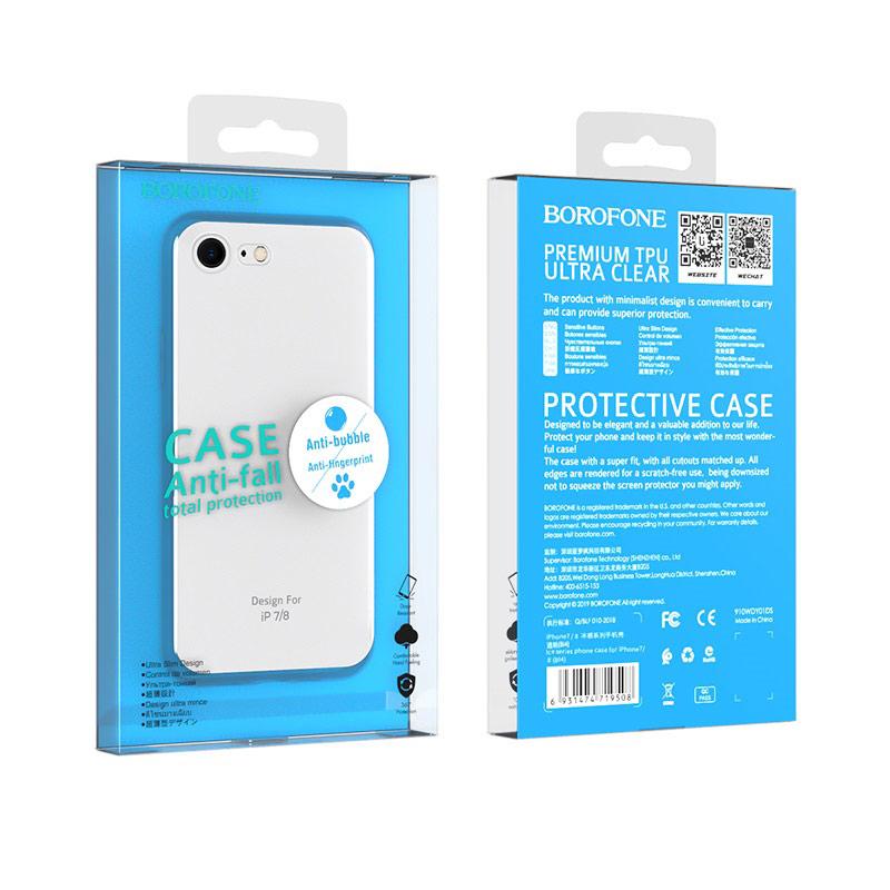 borofone ice series bi4 phone case for iphone 7 8 package