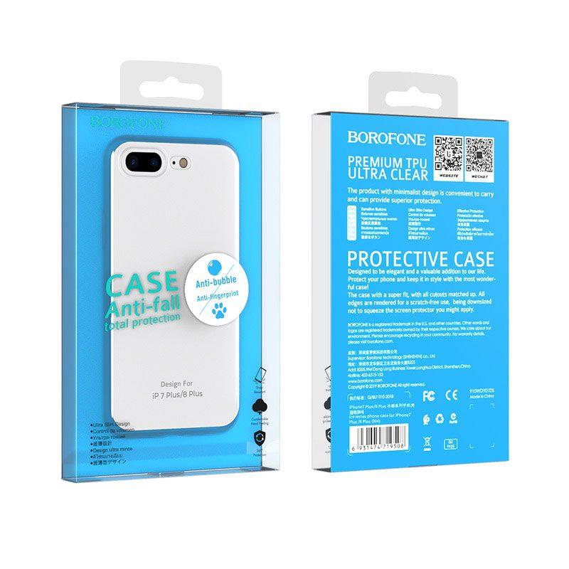 borofone ice series bi4 phone case for iphone 7 8 plus package