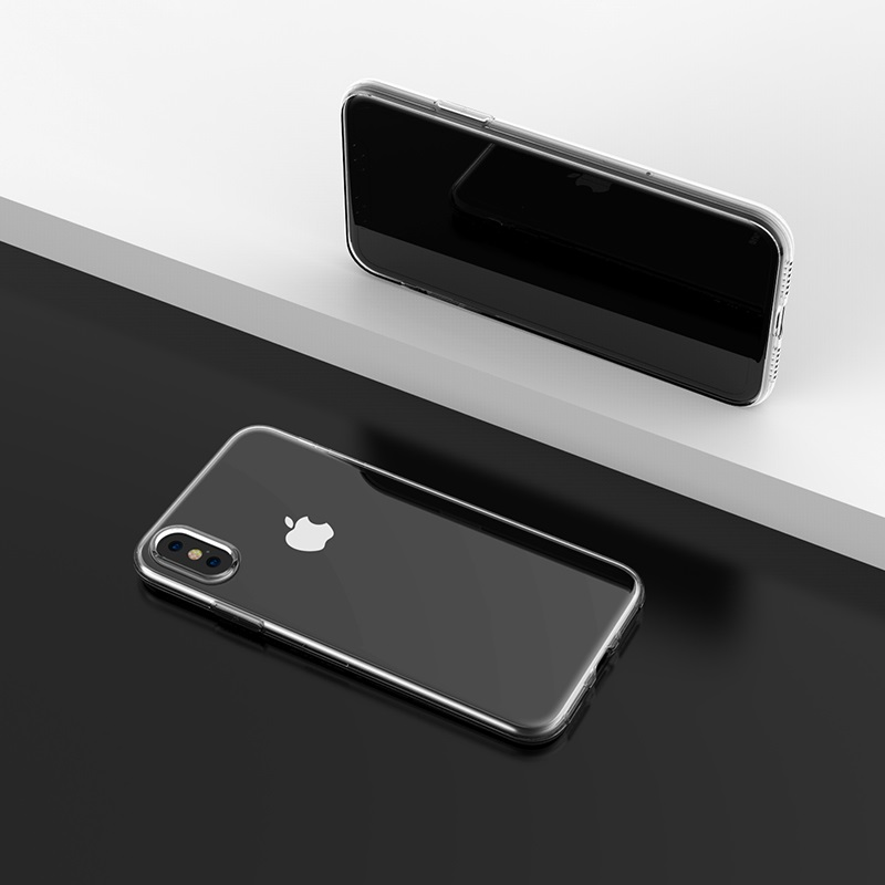 borofone ice series bi4 phone case for iphone x interior