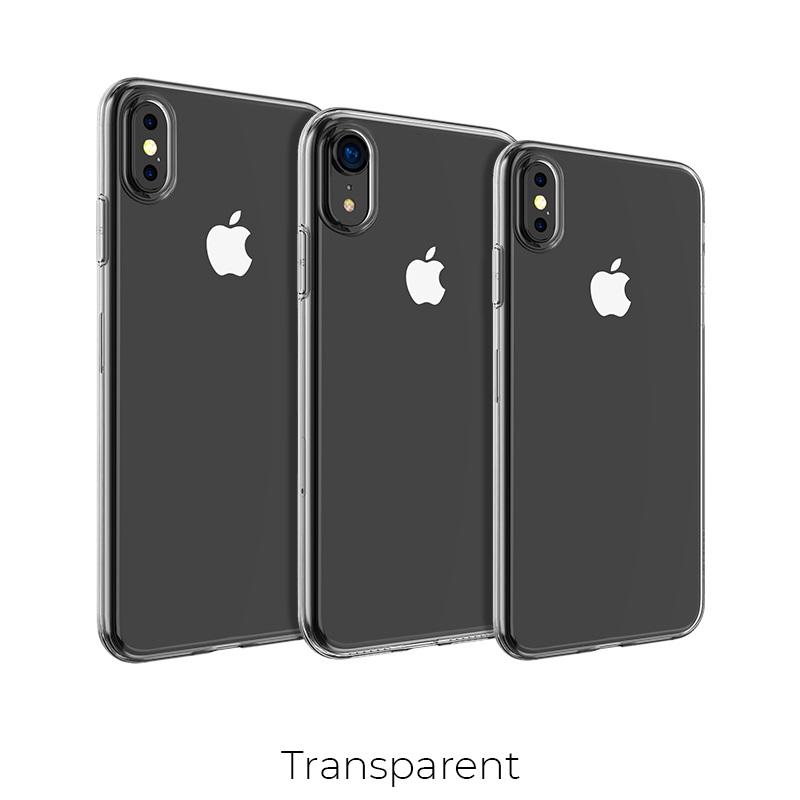 borofone ice series bi4 phone case for iphone xr xs max sizes