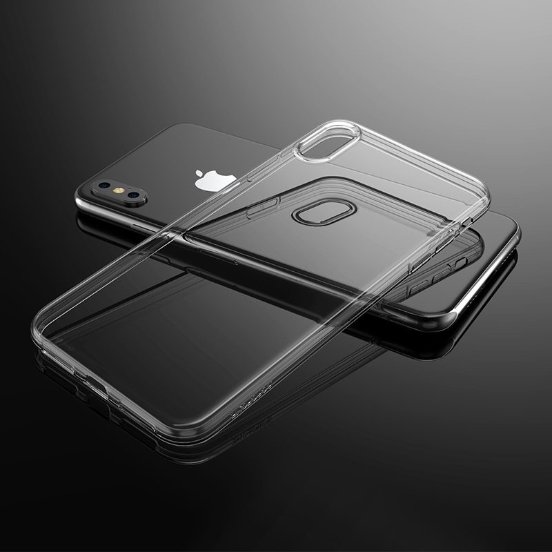 borofone ice series bi4 phone case for iphone xr xs max transparency