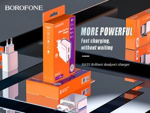 BOROFONE BA35 Brilliant wall charger