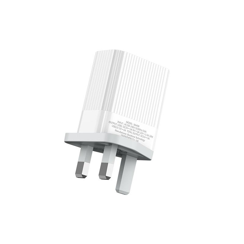 borofone ba40b speedway three port qc30 charger uk specs