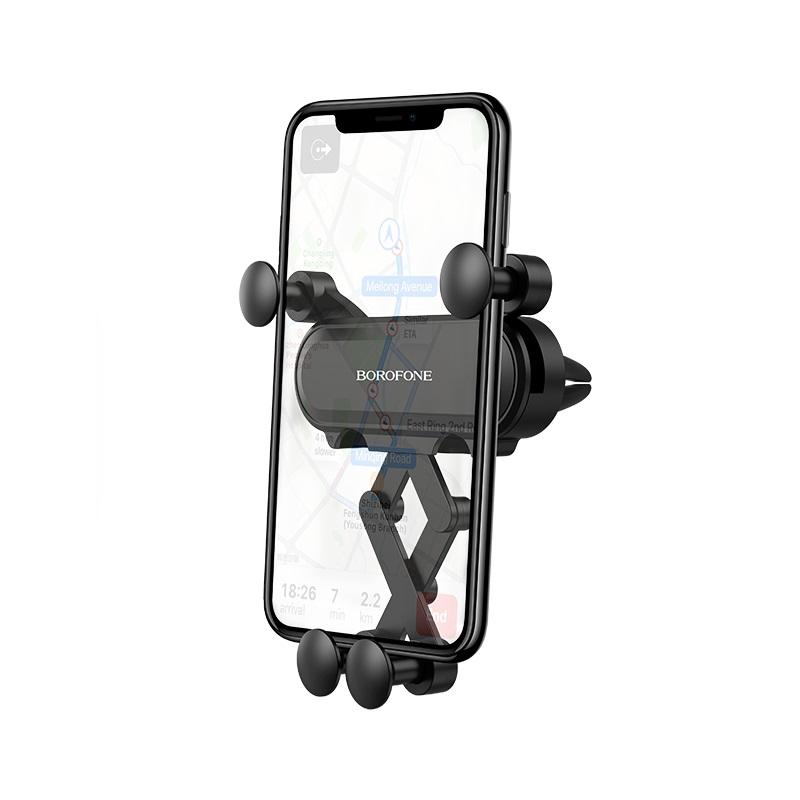 borofone bh19 eddie air outlet gravity in car holder