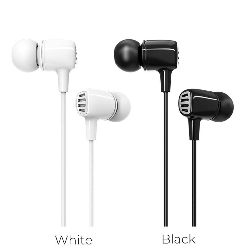 borofone bm43 remy universal earphones with mic colors