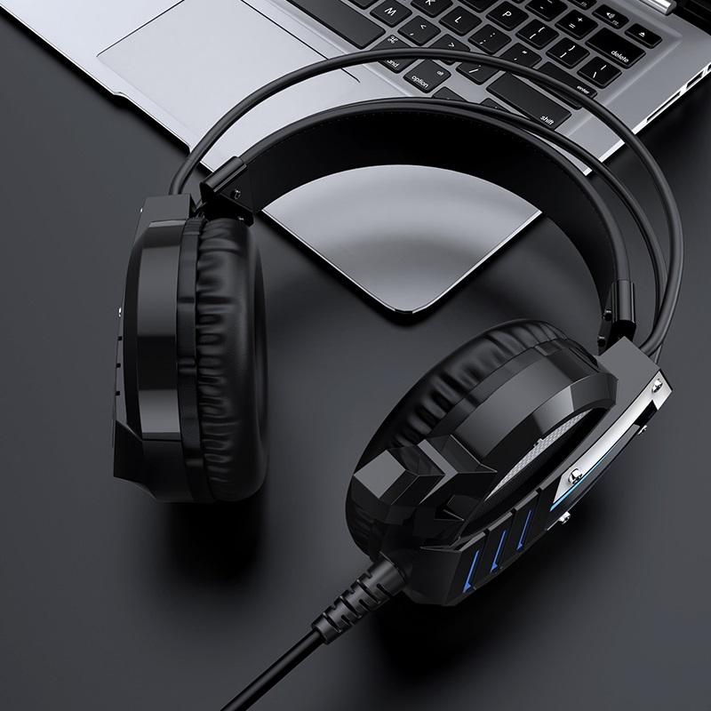 borofone bo100 fun gaming headphones interior