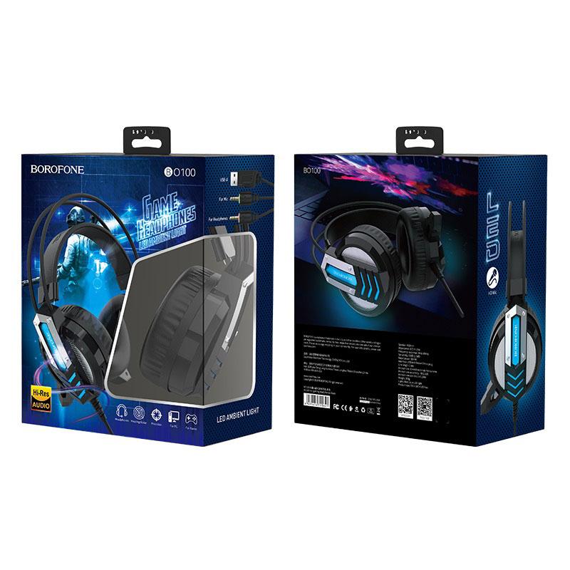 borofone bo100 fun gaming headphones package