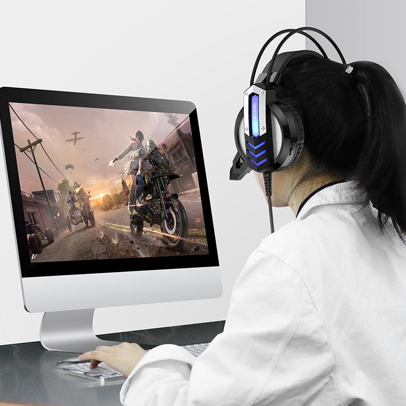 borofone bo100 fun gaming headphones woman
