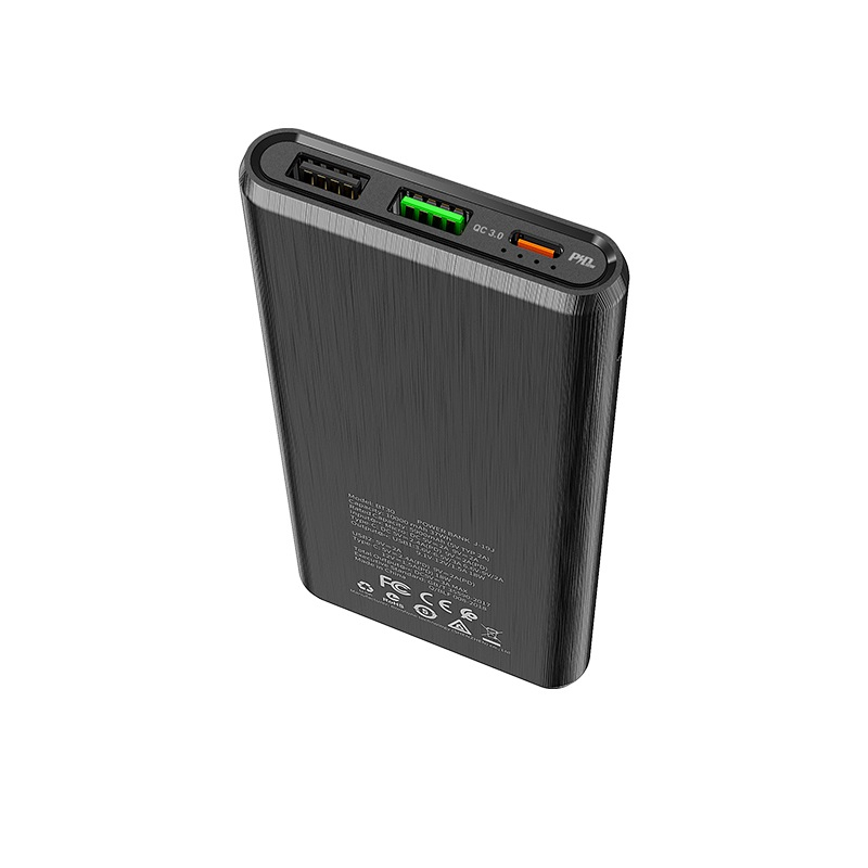 borofone bt30 dynamic pd qc30 mobile power bank 10000mah ports