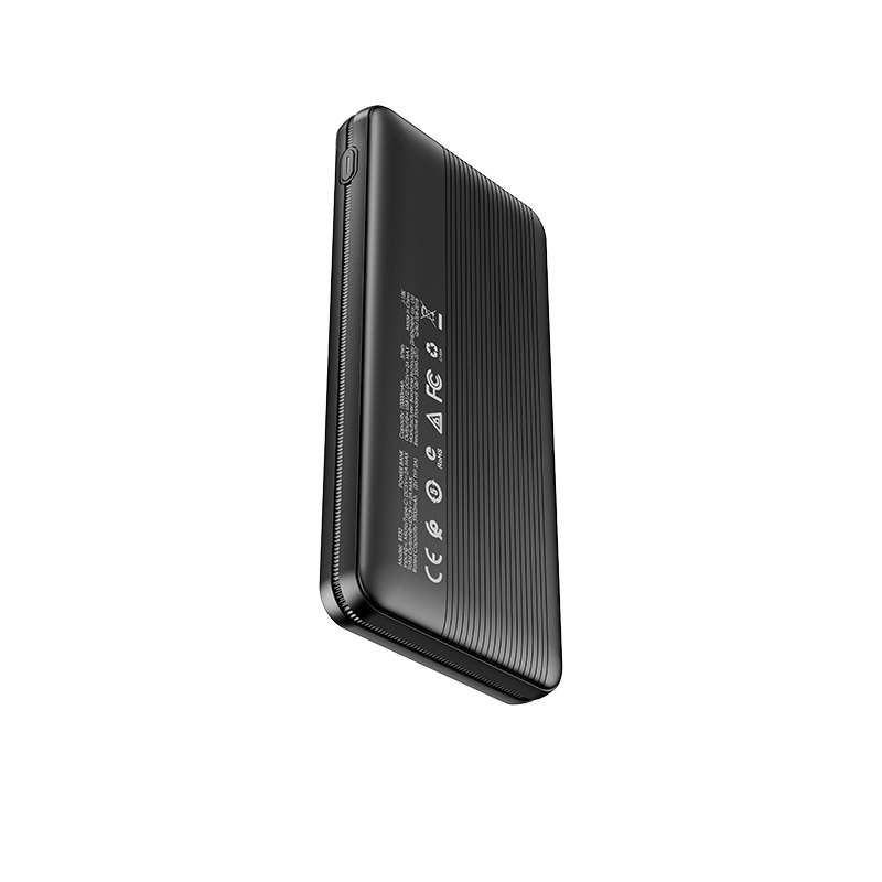 borofone bt32 precious mobile power bank 10000mah back