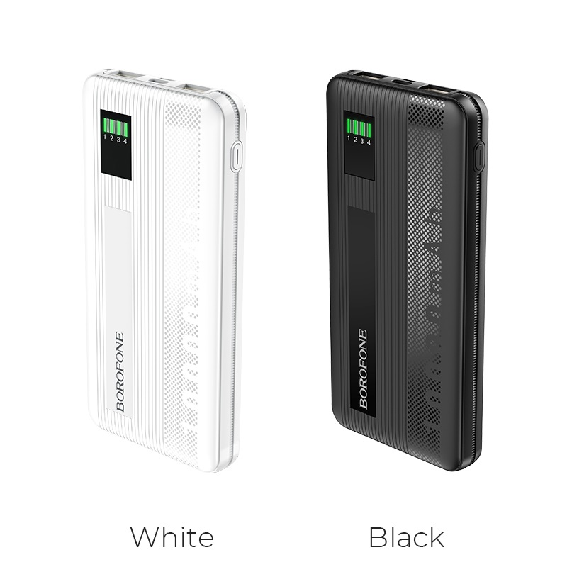 borofone bt32 precious mobile power bank 10000mah colors