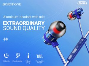 BOROFONE BM48 Acoustic earphones with mic