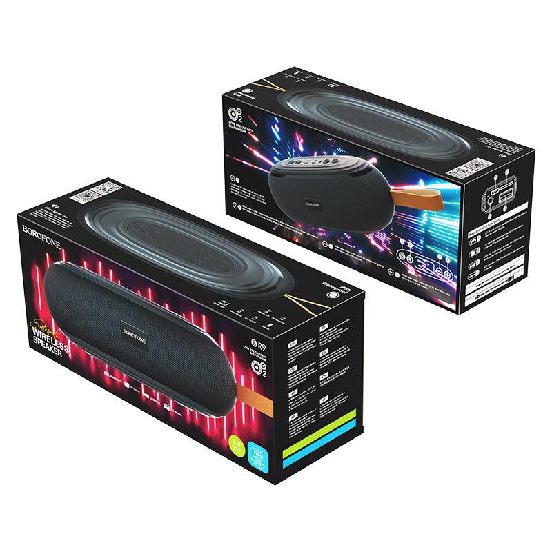 borofone br9 erudite sports wireless speaker package black