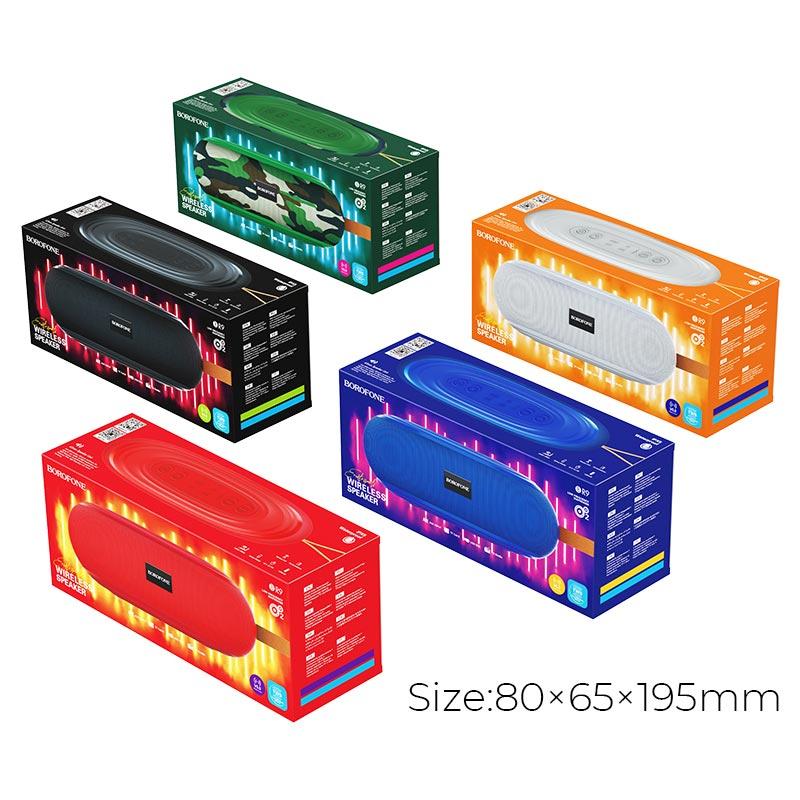 borofone br9 erudite sports wireless speaker packages